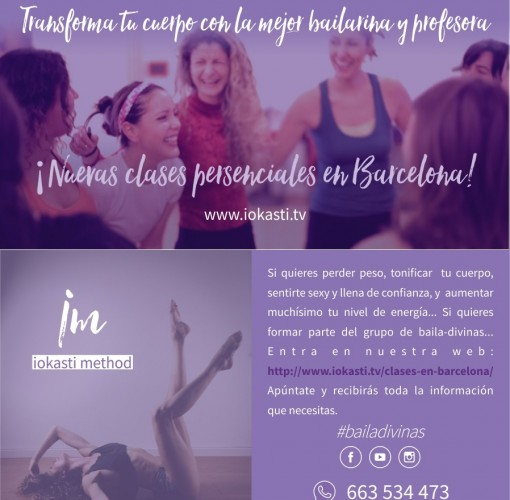Workshop, Baile, ponte en forma